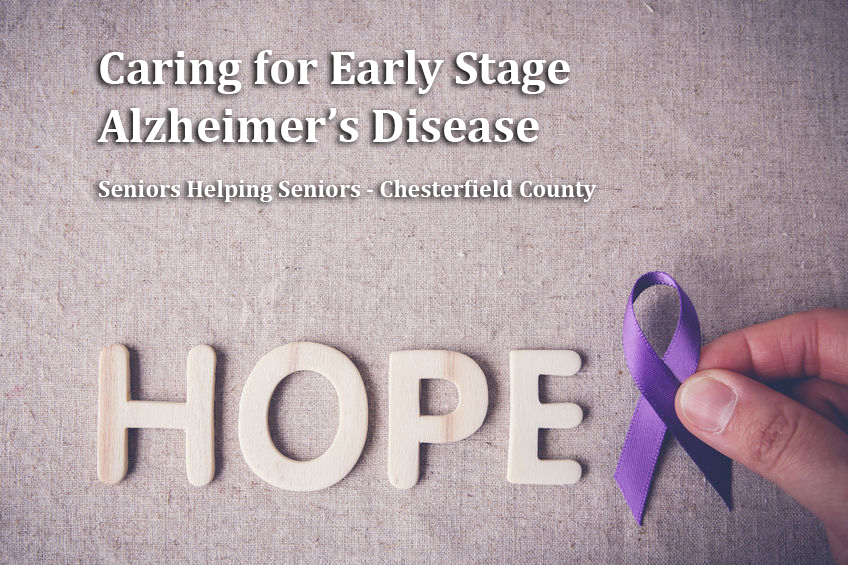 Caring for Early Stage Alzheimer's Disease